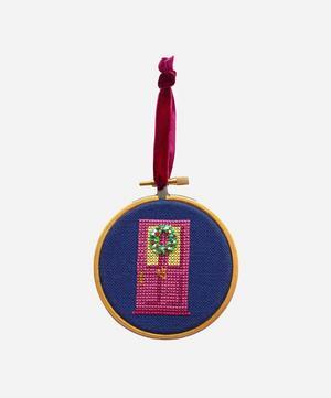 Christmas Wreath Bauble Cross Stitch Kit