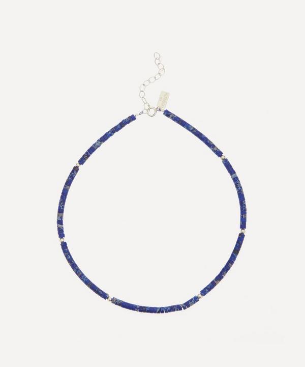 Hermina Athens - Blue Lagoon Lapis Beaded Necklace