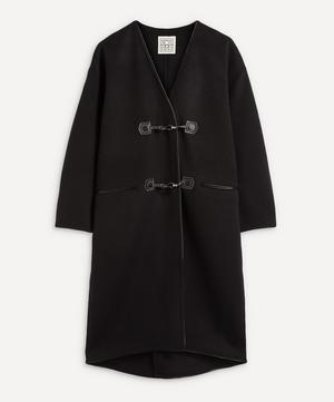 Wool-Cashmere Clasp Coat