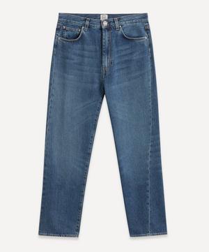 Twisted Seam Denim Jeans