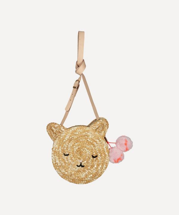 Meri Meri - Cat Straw Crossbody Bag