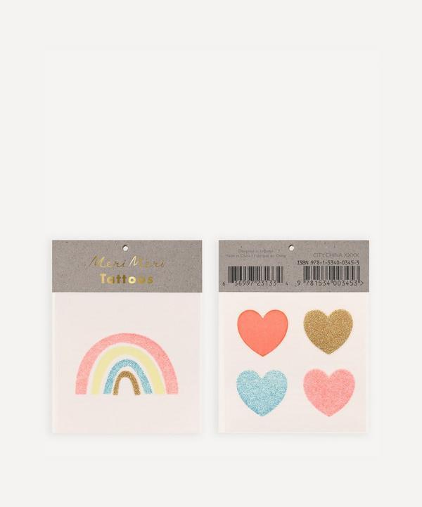 Meri Meri - Rainbows and Hearts Small Tattoos