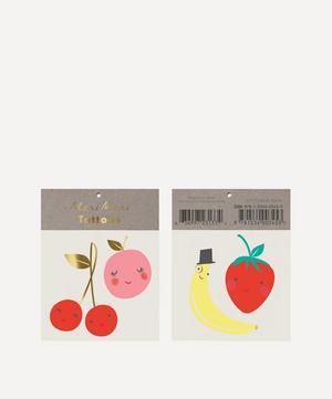 Happy Fruit Small Tattoos