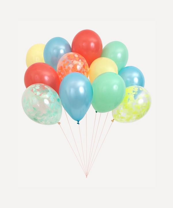 Meri Meri - Multicoloured Beautiful Balloons Set of 12