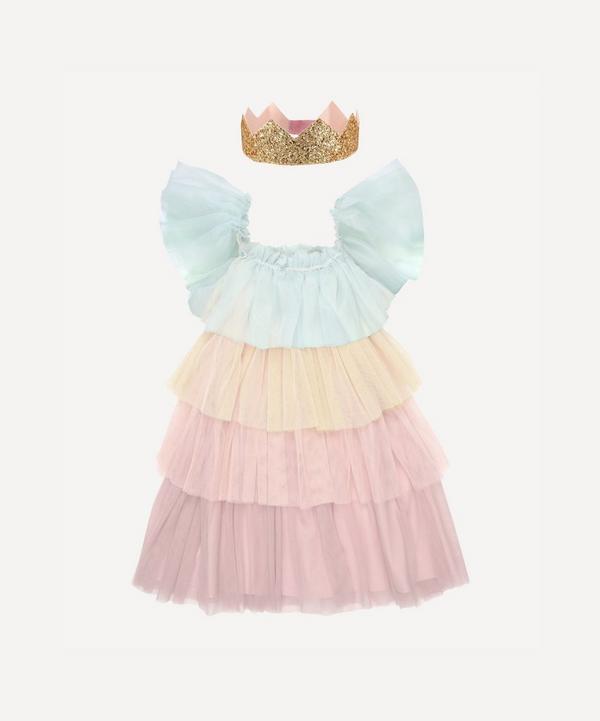 Meri Meri - Rainbow Ruffle Princess Costume 3-4 Years
