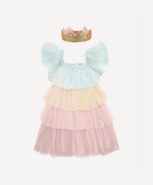 Rainbow Ruffle Princess Costume 3-4 Years