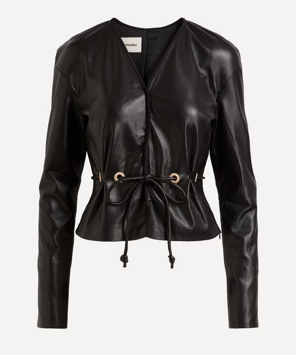 Nanushka - Faroe Vegan Leather Jacket