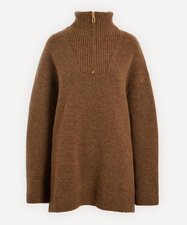 Nanushka - Zuma Fluffy Knit Sweater