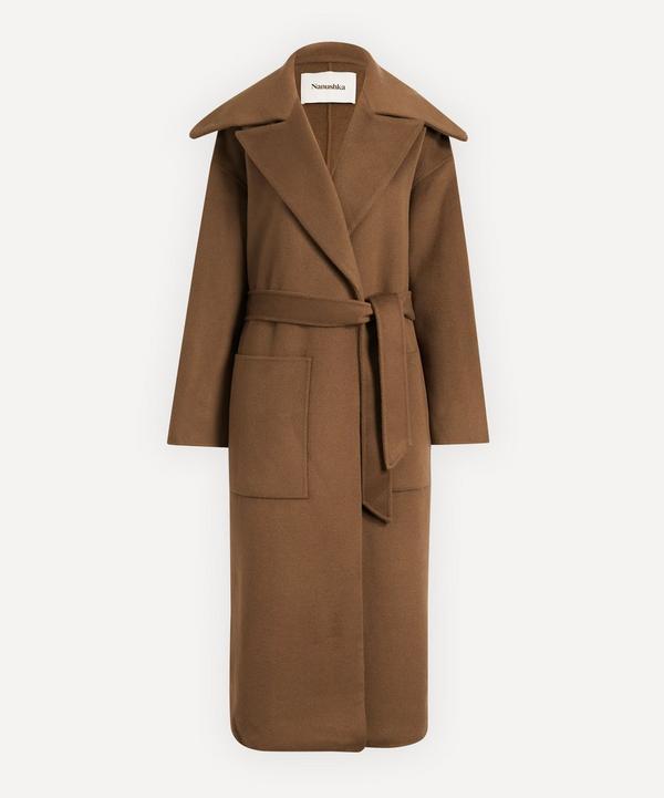 Nanushka - Soa Double Wool Trench Coat