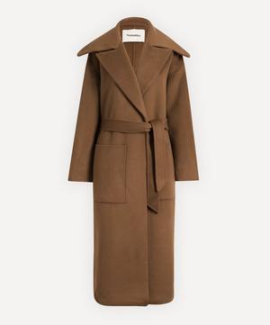 Soa Double Wool Trench Coat
