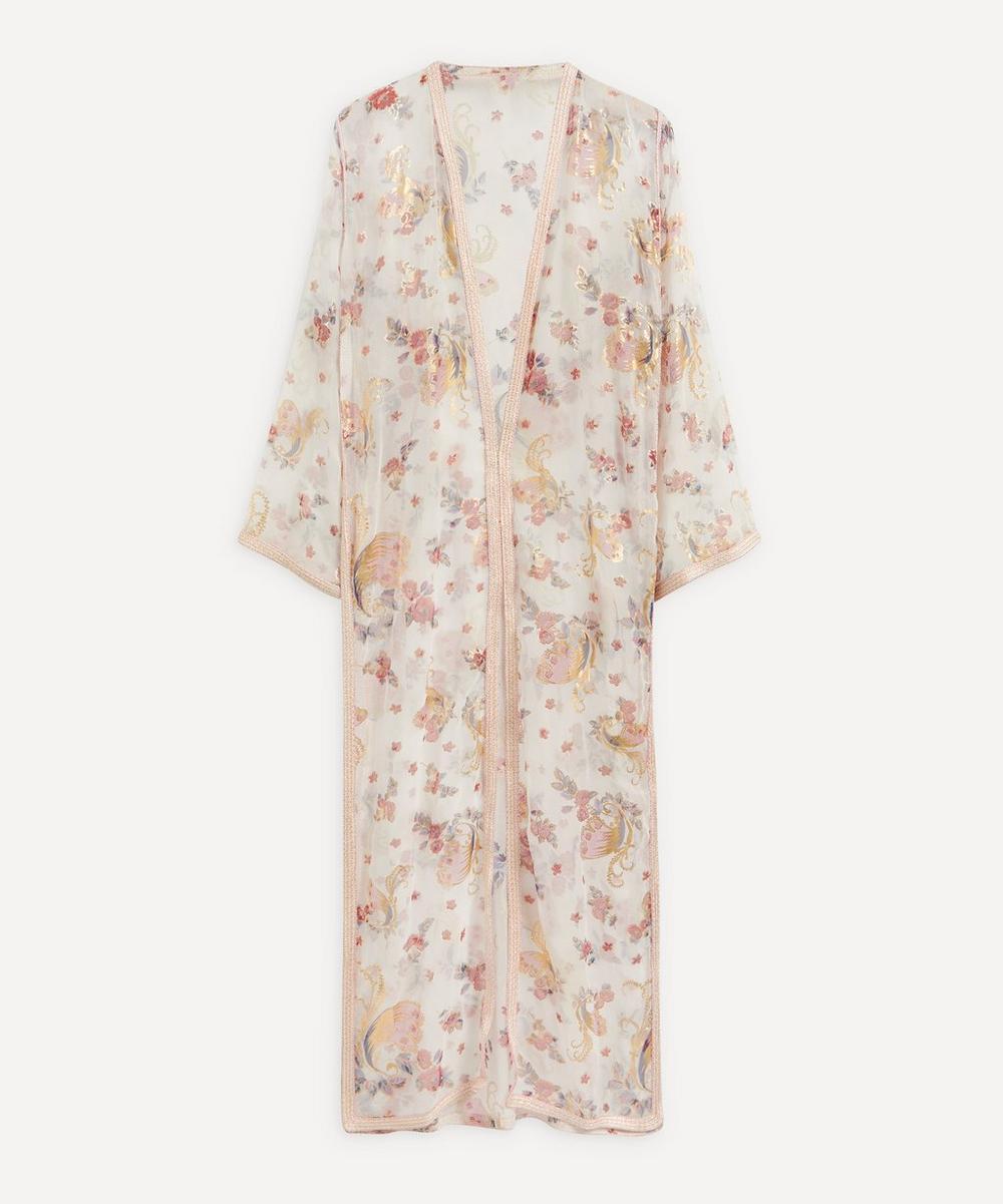 Designer Vintage - 70's Couture Organdie Coat