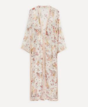 70's Couture Organdie Coat