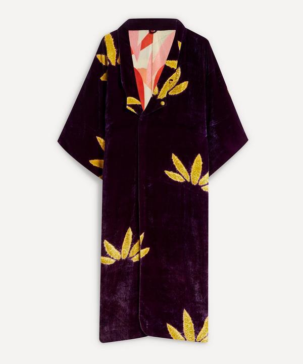 Designer Vintage - 20's Couture Velvet Coat
