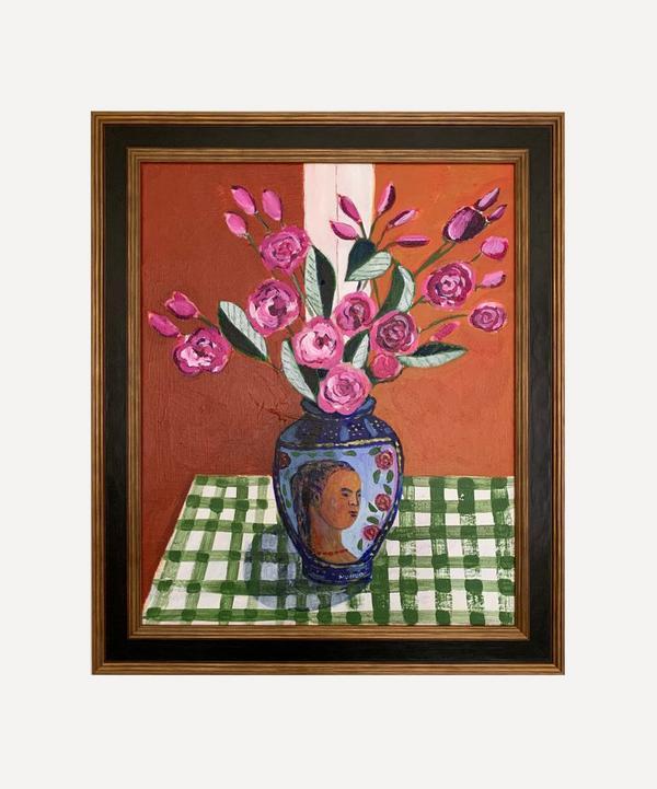 Naomi Munuo - Bouquet Yoji 2021 Original Framed Artwork