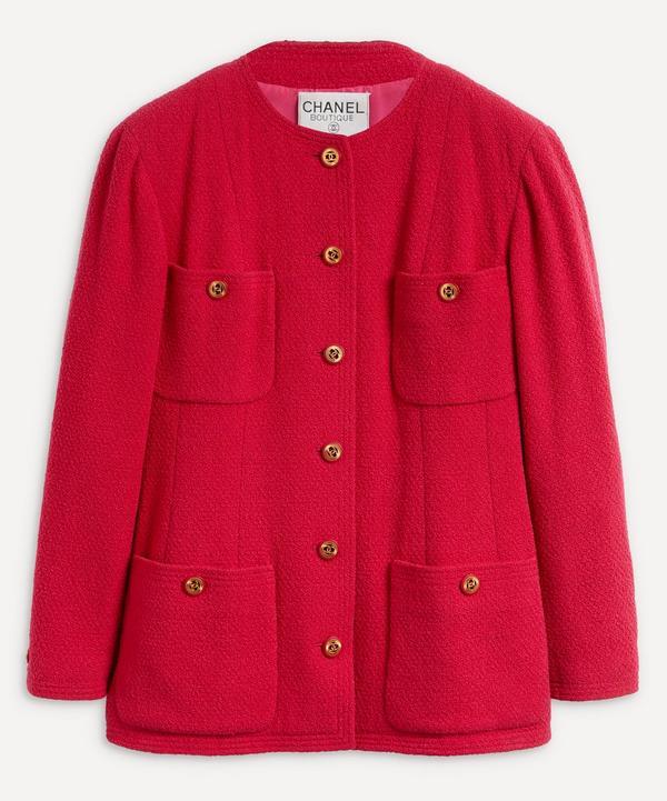 Designer Vintage - Chanel Boutique '80s Wool Jacket