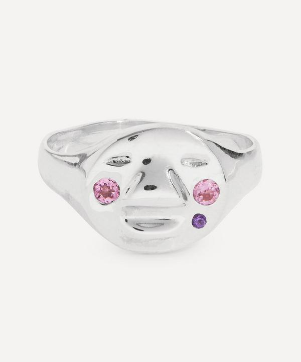 Alec Doherty - Sterling Silver Hazy Stoned Ring