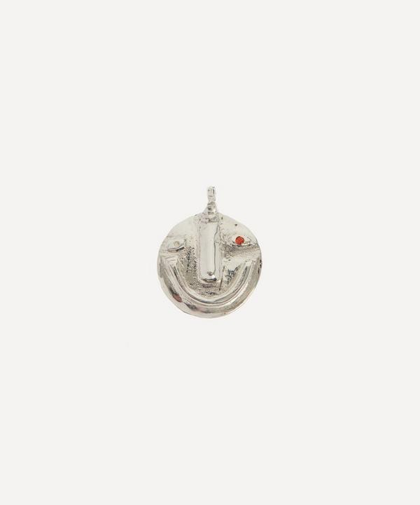 Alec Doherty - Sterling Silver Good Day Bad Day Stoned Pendant
