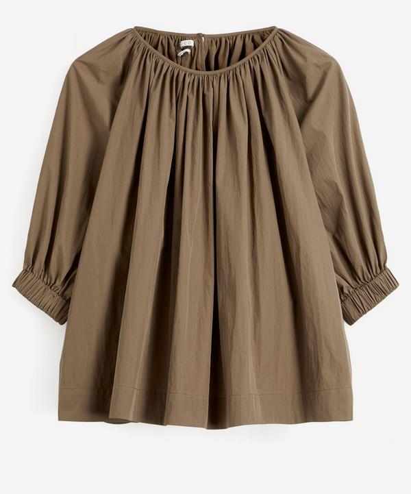 CO - Gathered Sleeve Blouse