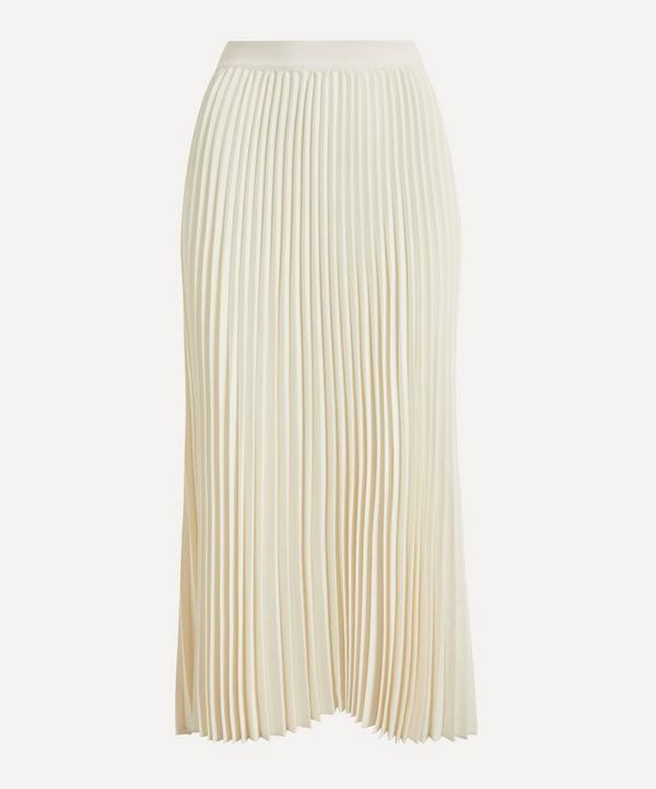 CO - Pleated Crepe Skirt