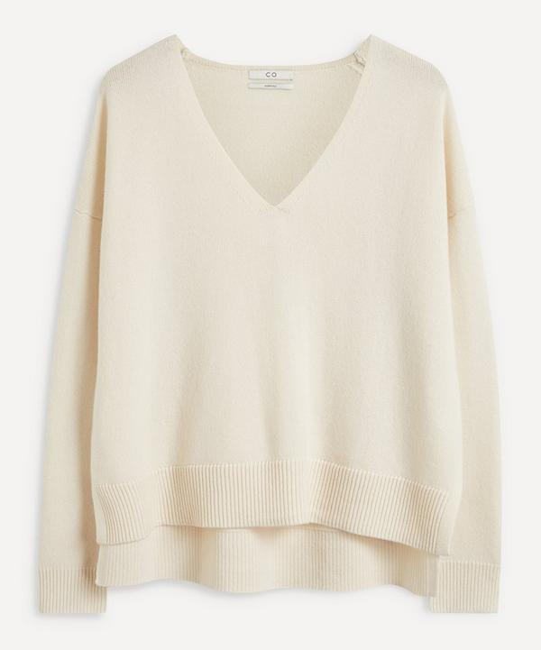 CO - V-Neck Wool Cashmere Sweater