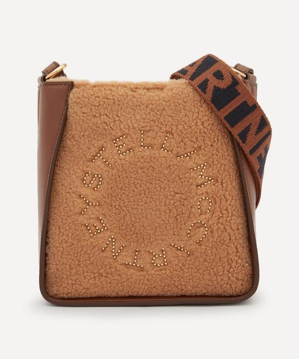 Stella McCartney - Stella Logo Teddy and Faux Leather Shoulder Bag