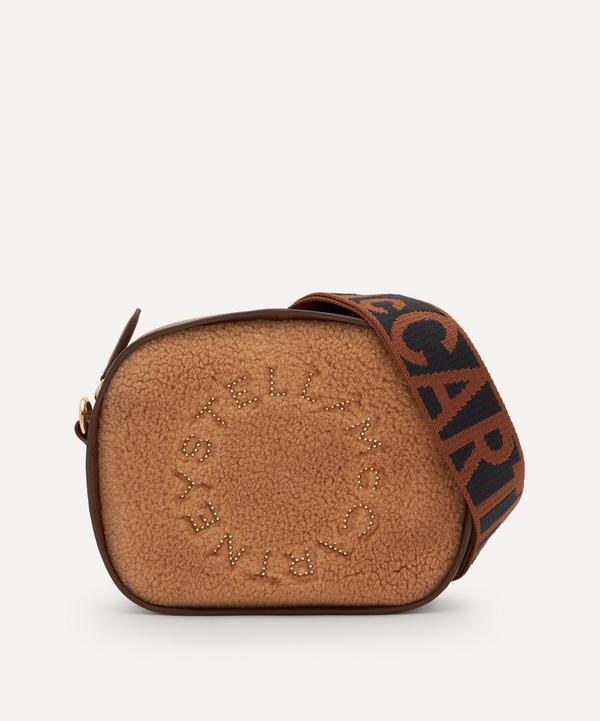 Stella McCartney - Stella Logo Mini Teddy and Faux Leather Cross-Body Bag