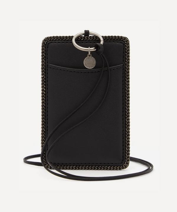 Stella McCartney - Faux Leather Card Holder with Neck Strap