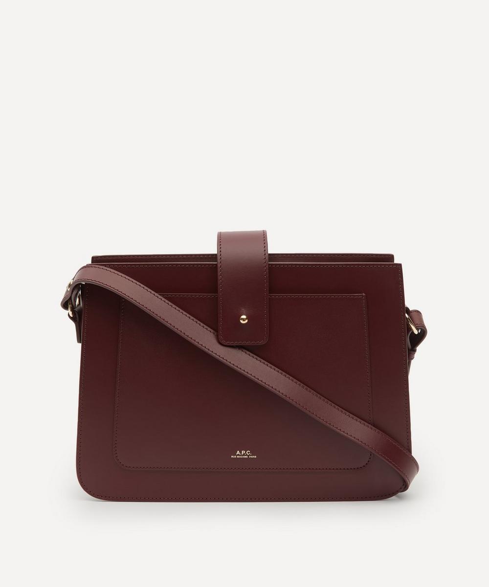 A.P.C. - Albane Leather Shoulder Bag