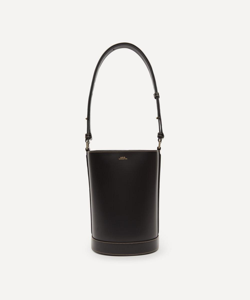 A.P.C. - Ambre Leather Bucket Bag