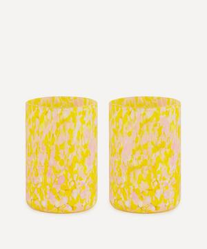 Macchia su Macchia Murano Glass Tumblers Set of Two