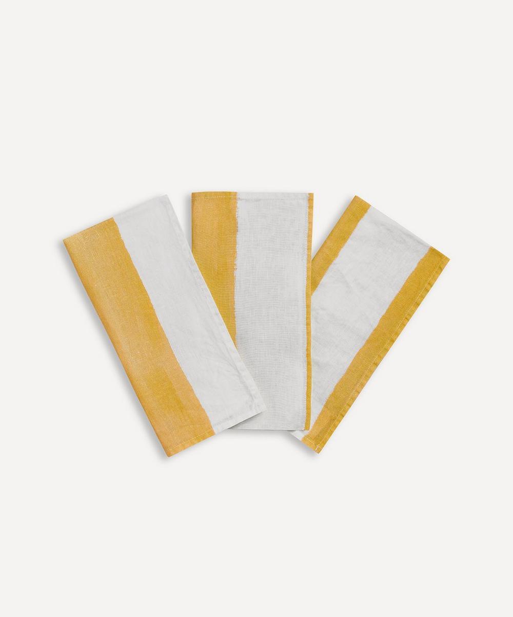 Summerill & Bishop - Stripe Linen Napkin