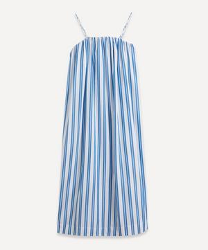 Strappy Stripe Organic Cotton Dress