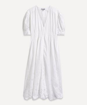 Broderie Anglaise Midi-Dress