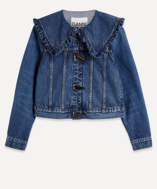 Ganni - Organic Cotton Denim Jacket
