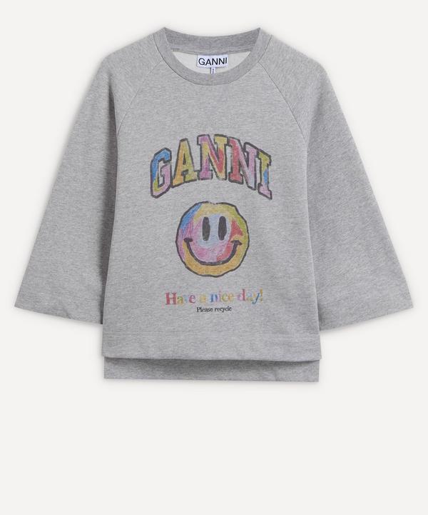Ganni - Graphic Logo Sweatshirt