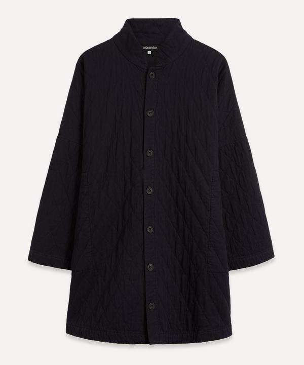 Eskandar - Imperial High Collar Coat