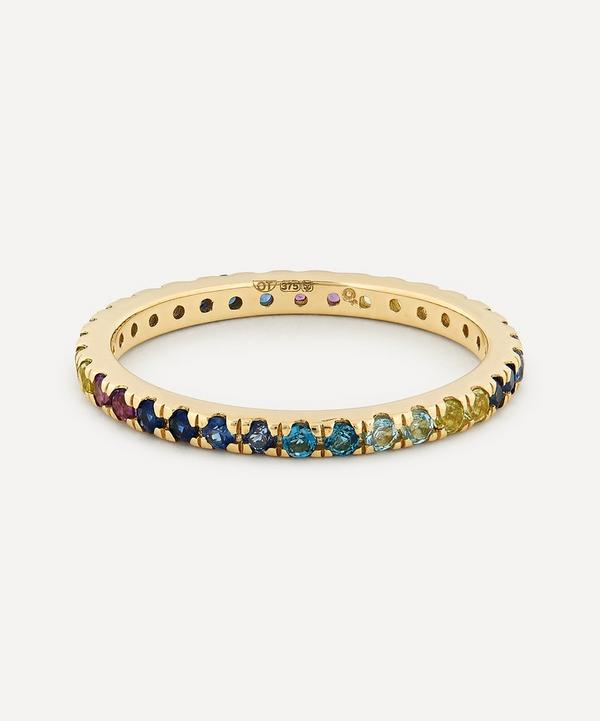 Otiumberg - 9ct Gold Cool Gradient Multi-Stone Ring