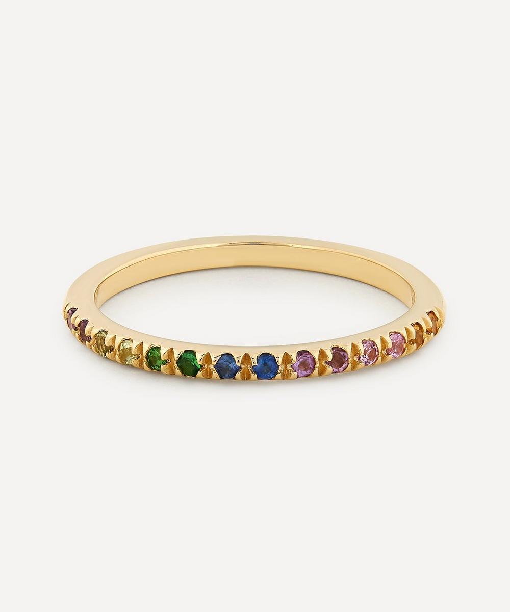 Otiumberg - 9ct Gold Rainbow Multi-Stone Ring