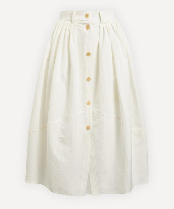 Chloé - Buttoned Midi-Skirt