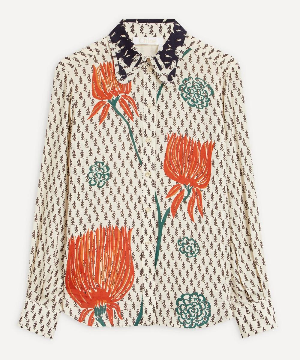 Chloé - Tulip Print Blouse