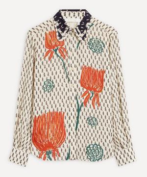 Tulip Print Blouse