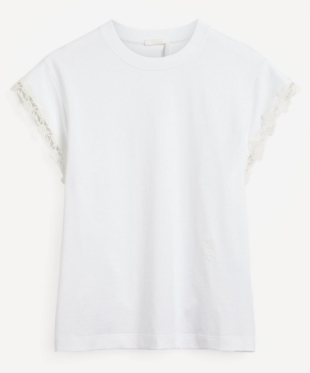 Chloé - Lace Detail T-Shirt