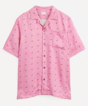 Carltone Printed Bowling Shirt