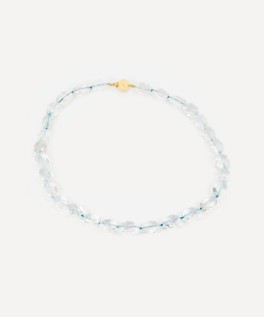 Kojis - Rock Crystal Beaded Necklace