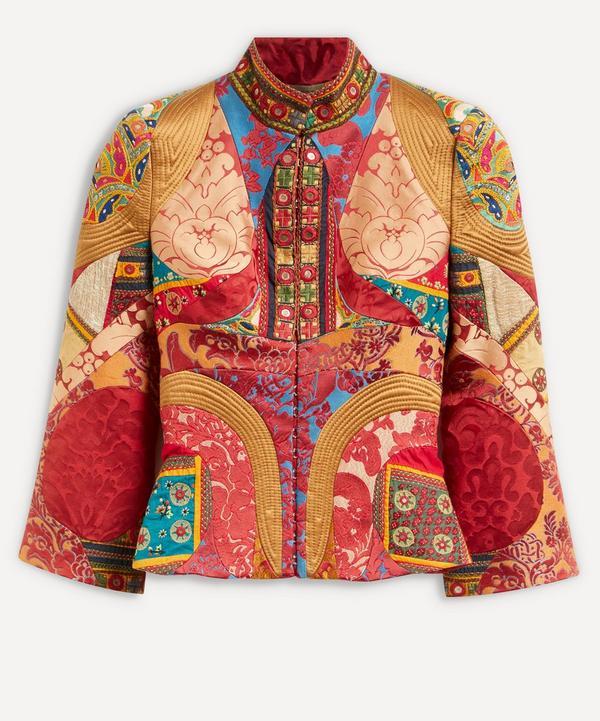 Designer Vintage - Alexander McQueen 2000 Patchwork Jacket