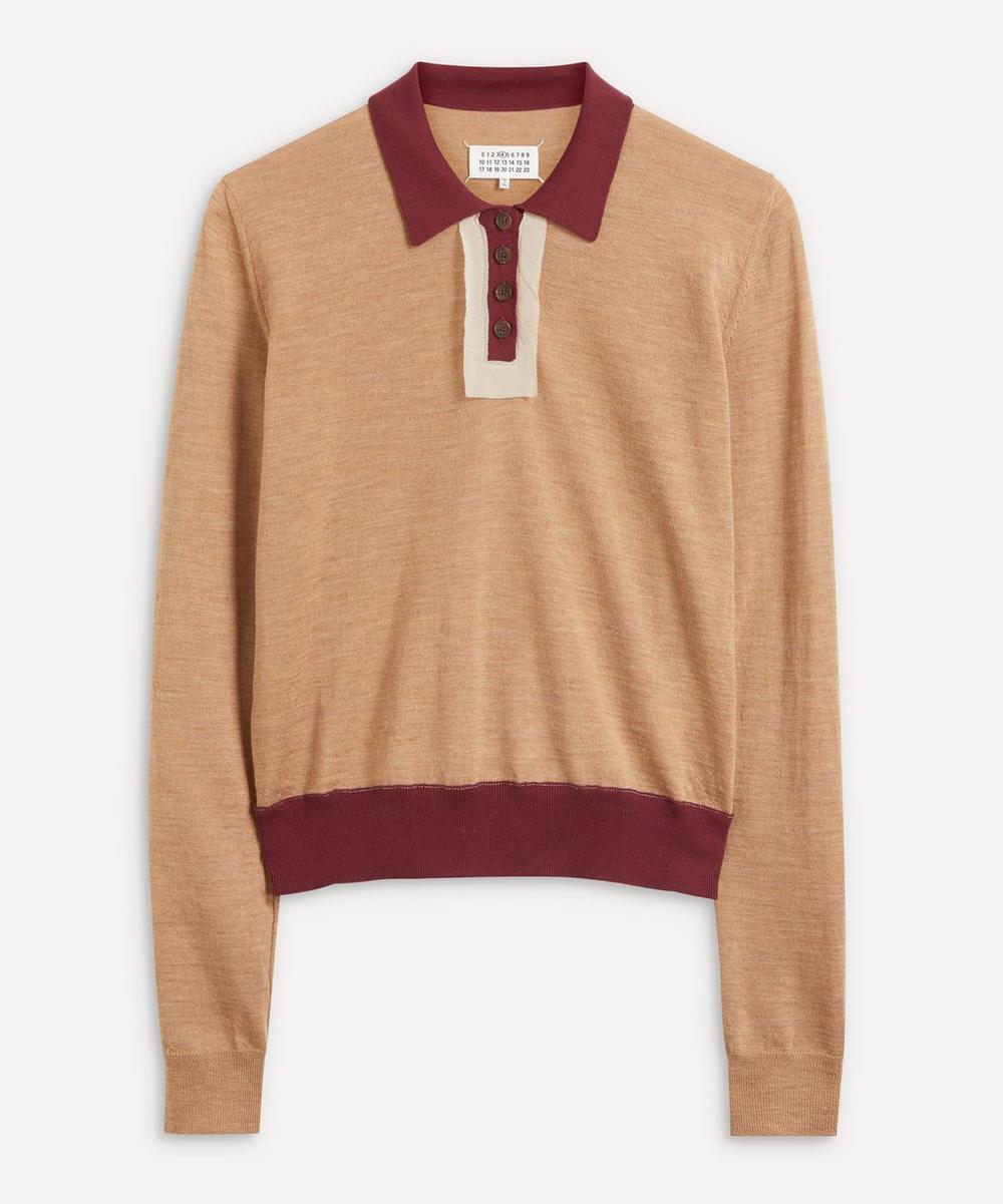 Maison Margiela - Colour-Block Polo Sweater