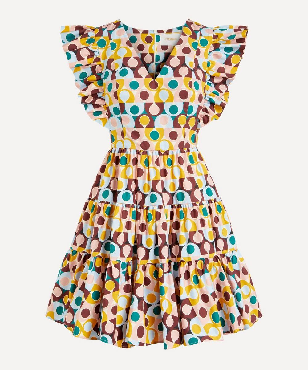 La DoubleJ - Honeybun Cotton-Poplin Mini-Dress
