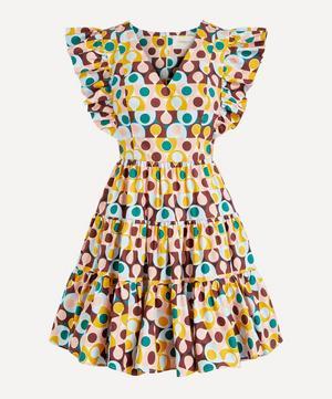 Honeybun Cotton-Poplin Mini-Dress