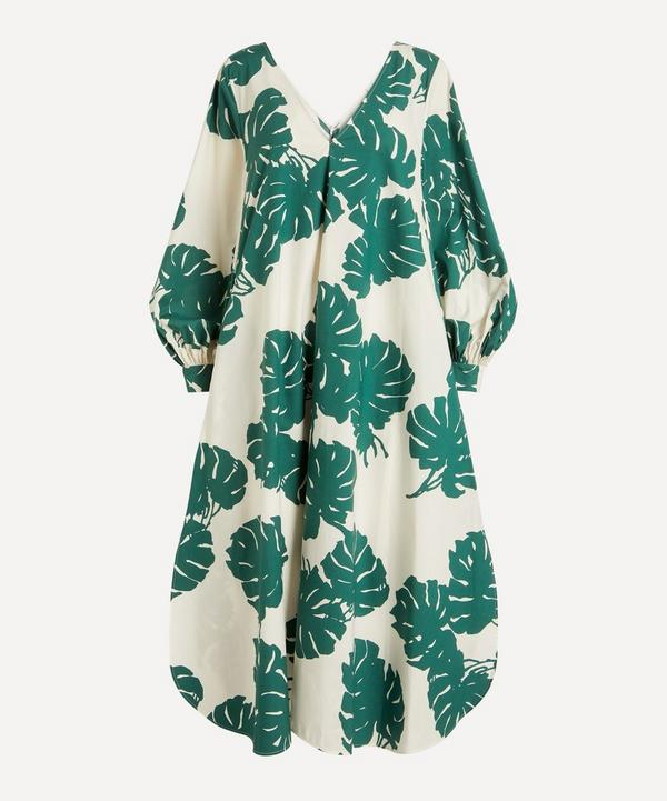 La DoubleJ - Bali Sweeping Cotton-Poplin Midi-Dress