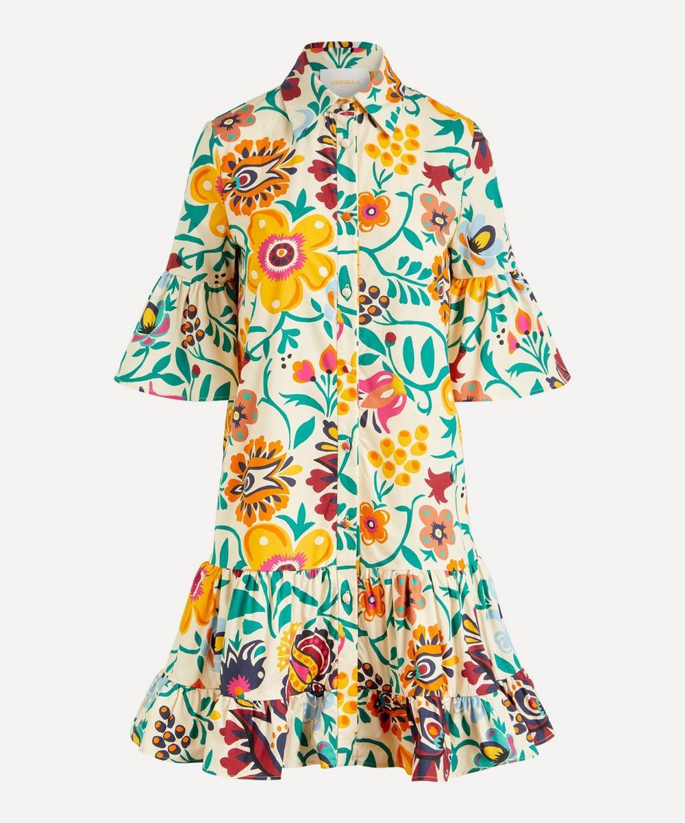 La DoubleJ - Choux Cotton-Poplin Shirt-Dress